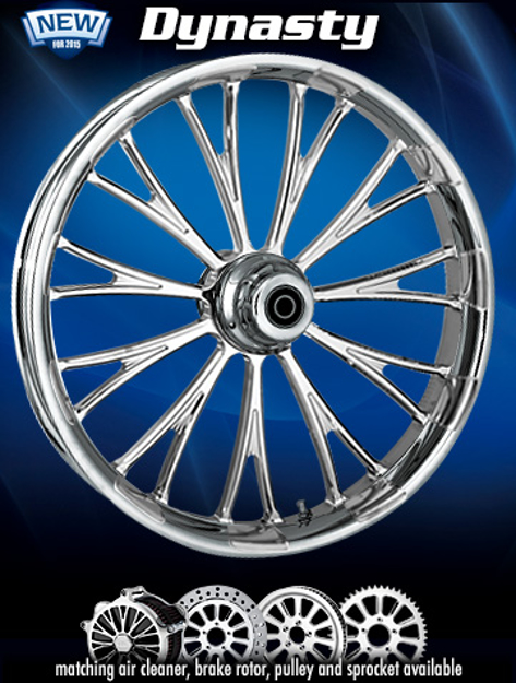 """Picture of RC Components """"DYNASTY"""" wheels"""