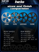"""Picture of RC Components """"HELO"""" wheel"""
