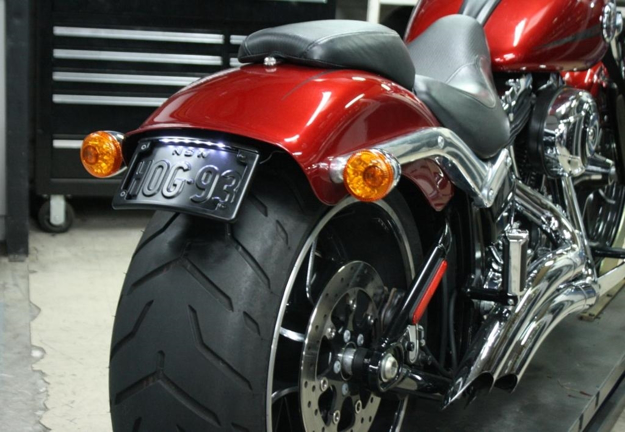 Picture of Bikecraft Fender Eliminator Tail Tidy to suit Harley Davidson Breakout  2013 to 2017 model
