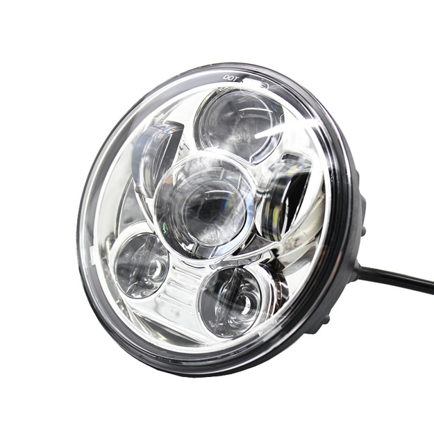 "Picture of Harley Davidson-  5-3/4"" 5.75 inch led headlight -Chrome"