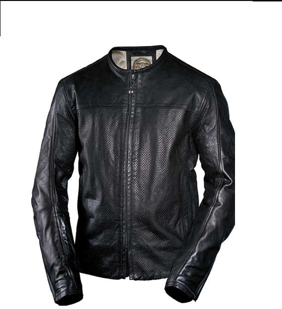 Picture of RSD Roland Sands Design Barfly Perforated Leather Jacket