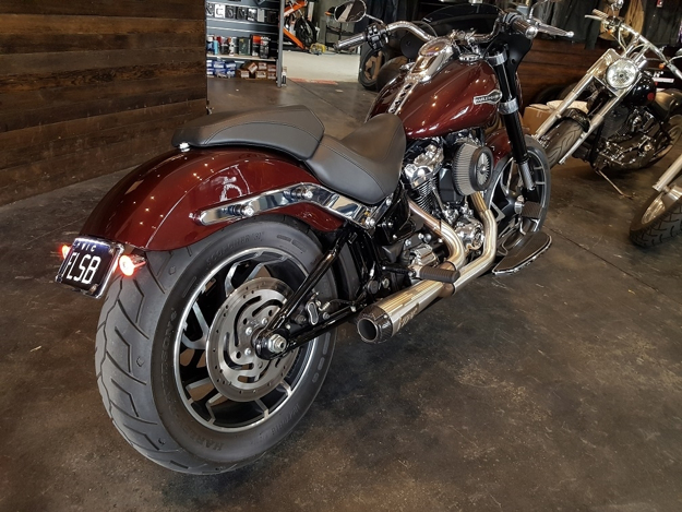Picture of SPORT GLIDE 2018 FENDER ELIMINATOR / TAIL TIDY FOR HARLEY DAVIDSON 2018/19 MODEL- with indicators