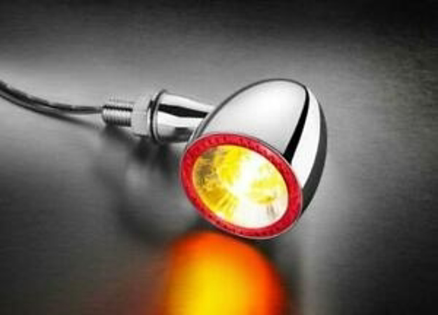Picture of Kellermann Bullet 1000 DF universal indicator rear and brake light chrome