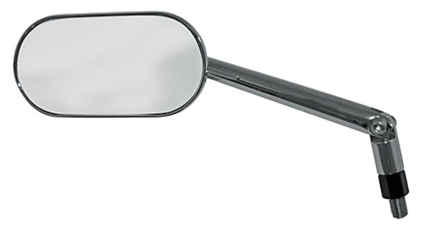Picture of Shin-Yo 301-722 universal front mirror AGILA oval chrome adjustable stem