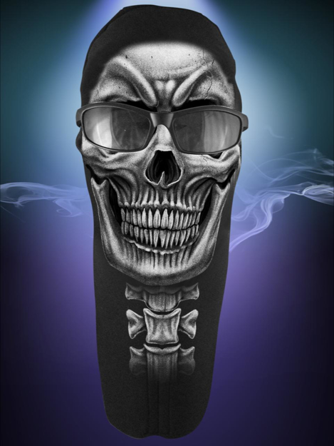 Picture of Wicked Wear Face Masks - Spine Skull
